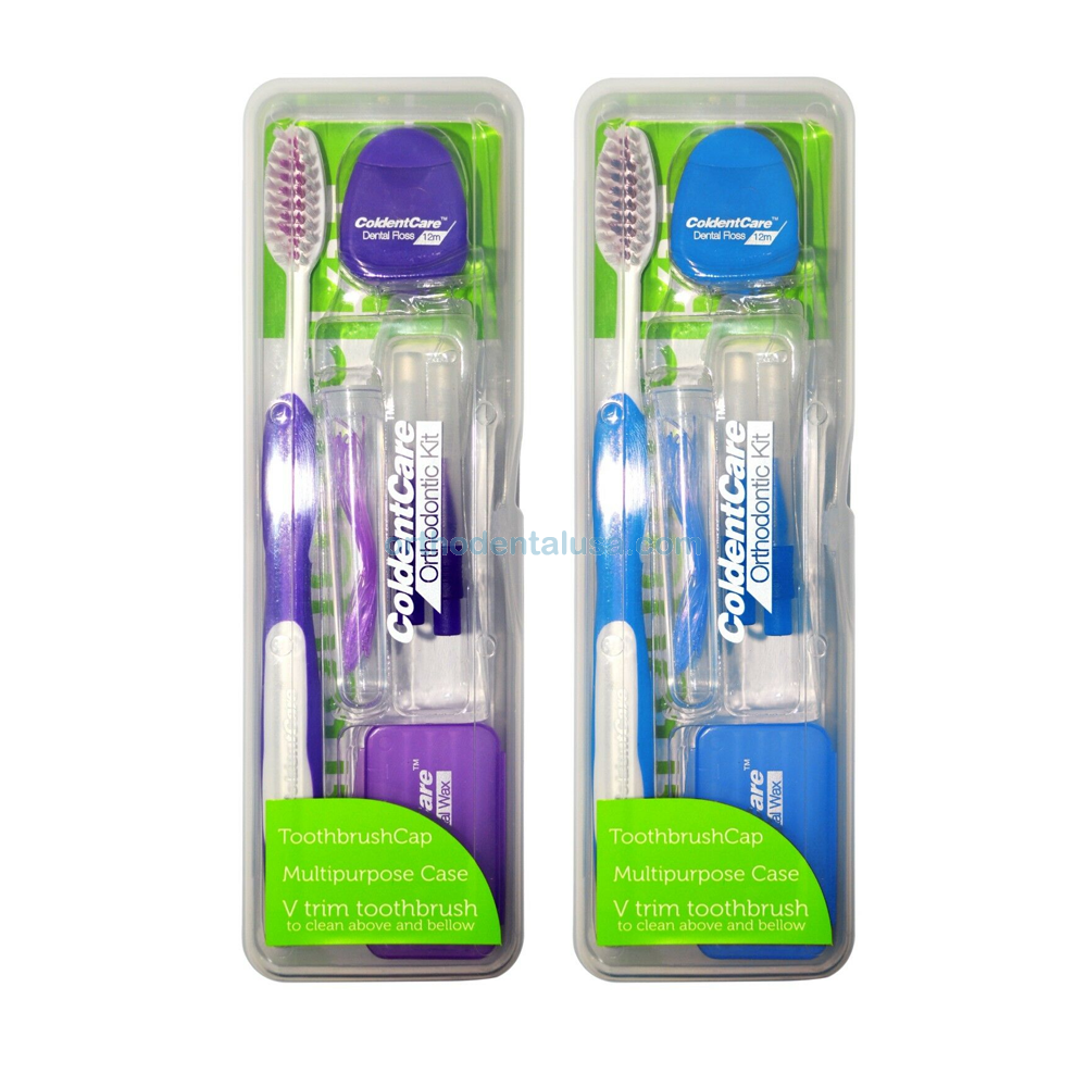 Orthodontic KIT Patient Oral Care Cleaning / 7 Pieces Kit