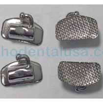 400 Buccal Tubes (100 per cuadrant) 1st Molar Bondable Single Edgewise .018""