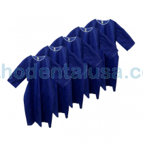 GOWNS BLUE - PACK x 5