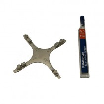 SET X 5 Orthodontic BOONE COMBO GAUGE & MARKER with LEAD POINTS